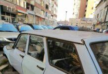Sute de locuri de parcare din Târgu Jiu, blocate de rable