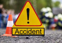 Biciclist, lovit de mașină în timp ce traversa strada